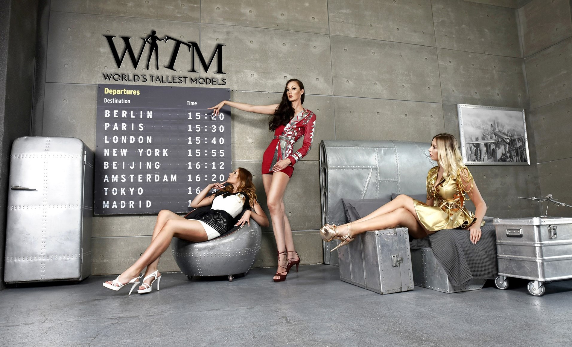 World's Tallest Models